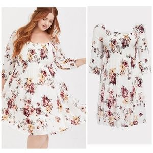Beautiful floral torrid dress